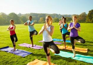 yoga-buiten